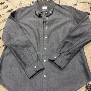 Gap Boyfriend Fit Dress Shirt